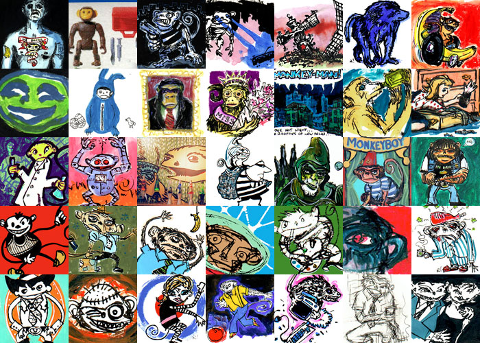 Monkey Mondays thumbnails 2001